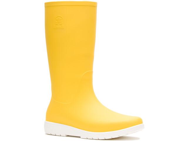 Kamik Jessie Botas de agua de goma Mujer, amarillo